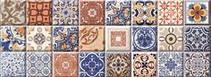 AGARON AZUL, παραδοσιακό πλακάκι τοίχου με σχέδια , διάσταση 22,5χ60, τιμή από 22-25 ε/μ2 με φπα