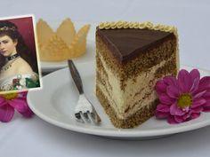 Podle mnohých byla nejkrásnější panovnicí všech dob. Císařovna Alžběta Amálie Evženie, známá ale spíše pod přezdívkou Sissi, měla při svých 172 cm výšky jen 45 až 48 kilogramů. Zlí jazykové tvrdí, že byla anorektička, my jsme ale u vídeňských cukrářů objevili původní recept na vskutku úžasný dortík, na kterém si údajně Sissi vždycky ráda smlsla…