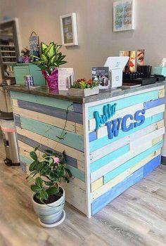 Boutique Interior, Boutique Decor, Cafe Interior, Interior Design, Dog Grooming Shop, Dog Grooming Salons, Retail Counter, Decoration Vitrine, Nail Salon Decor