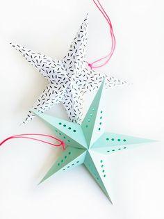Printable Mini Super Stars | Oh Happy Day!