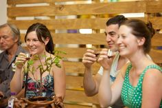 Wine Appreciation at Ergon Energy Flower Food and Wine Festival 2012.