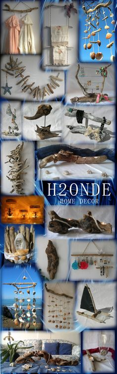 Our creations are made of driftwood and seashells. We create home decors in coastal, rustic, nautica, ocean, modern, shabby chic, minimalist styles and much more! Our creations are perfect for weddings, gifts, birthdays, special events, ceremonies, anniversaries and themed parties. We create centerpieces, home decor, wall mounted racks, jewelry organizers,wind chime, dream catcher, candle holders, perfect both for outdoor (patio, beach, garden, barbecue area) and indo...