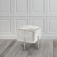 Shop for Velvet and Steel Cube Ottoman. Get free shipping at Overstock.com - Your Online Furniture Outlet Store! Get 5% in rewards with Club O!