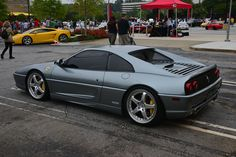 In my opinion the most beautiful Ferrari ever - Ferrari F355 Berlinetta - Atlanta Streets