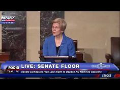 Mitch McConnell Cuts Off Elizabeth Warren For Inappropriate Speech About Sessions | Video | RealClearPolitics