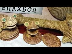 Плетение из сосновой хвои | oblacco
