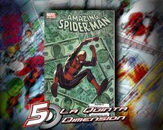 AMAZING SPIDER-MAN # 580 DEL 2005. $ 50.00 Para más información, contáctanos en http://www.facebook.com/la5aDimension