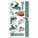 Miami Dolphins temporary tattoos