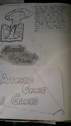 Atomic Comics and Games research