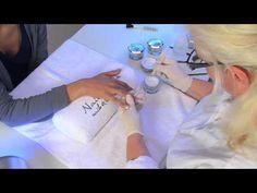 #video #uvgel #nails UV-Gel Nagelmodellage mit Nagel Tips für künstliche Fingernägel von http://www.nded.de.