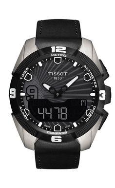 TISSOT T-TOUCH EXPERT SOLAR TONY PARKER 2014 La montre Tissot T-Touch Expert Solar Tony Parker 2014 est un nouveau modèle dans la gamme Tissot. Extrêmement bien conçue, elle affiches des lignes épurées à la fois sportives et intemporelles. Alimentée à l'énergie solaire, elle est particulièrement respectueuse de l'environnement, ce qui représente une première pour une montre tactile. Dotée de 25 fonctions, dont les prévisions météorologiques, l'altimètre et la boussole, elle permettra à ...