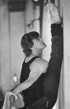 """""""I do not try to dance better than anyone else. I only try to dance better than myself.""""  Michail Nikolaevič Baryšnikov"""