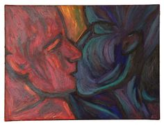 Official website for expressionist oil painter Annie Swarm Guldberg, aka Oil Painter Annie. See original works, shows and events, and art for sale. Oil Painters, Art For Sale, Annie, Artist, Kiss, Painting, Paint Colours, Backgrounds, Artists