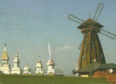 Windmills in Russia.