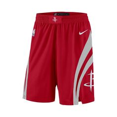 Houston Rockets Nike Icon Edition Swingman Men's NBA Shorts Size