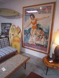vintage surf room