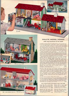1956 Sears Christmas Catalog  I had the one in the middle!!