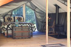 Huckleberry Tent & Breakfast - Glamping in Idaho