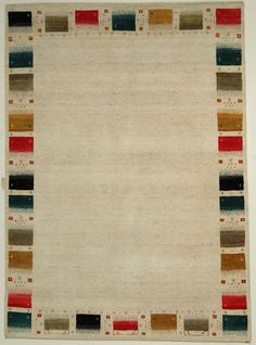 Loribaft Gabbeh  Teppiche  Moderno Tappeto Alfombra 239 x 173 cm Rugs