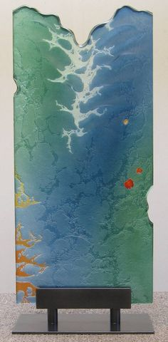 Artist: Markian Olynyk, Title: Ocean Monolith - click for larger image