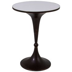 Bronze & Acrylic Chess Piece Side Table By Charles Hollis Jones   From a unique collection of antique and modern end tables at http://www.1stdibs.com/furniture/tables/end-tables/