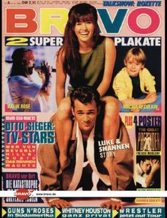 Bravo - 04/93, 21.01.1993 - Luke Perry & Shannen Doherty (Berverly Hills 90210, TV Serie