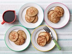 3-Ingredient Gluten-Free Banana Pancakes : Next time the kids wake up asking for pancakes, try this easy, gluten-free option. The batter comes together with the help of just two eggs, a banana and some pumpkin pie spice. The recipe requires half the work of regular pancakes, with 10 times the flavor (plus an added nutritional boost, thanks to the bananas).
