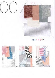 Collectif Banco Studio recherches croquis-8 pour tapis boucherouite