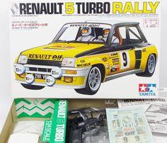 "TAMIYA "" RENAULT 5 TURBO RALLY "" 1 24 Scale Car Plastic Model Kit 24027 Japan #Tamiya"
