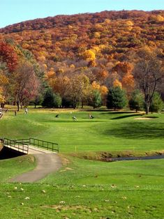 Sleeping Giant Golf Course has been open for almost 100 years (since 1924)! It's a 9-hole course and it's our #GolfCourseOfTheDay! | Rock Bottom Golf #RockBottomGolf Shop for the best in Golf Push Carts and More at http://bestgolfpushcarts.net/