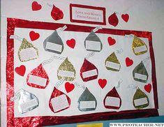 Valentine/Writing Bulletin Board