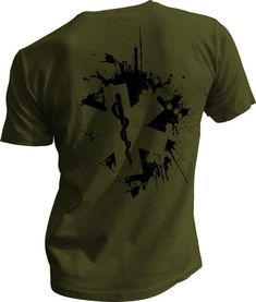 Star of Life Splatter Emt Shirts, Branded Shirts, Tactical T Shirts, Paramedic Quotes, Firefighter Apparel, Thin Red Line Flag, Combat Medic, Warriors Shirt, Shirt Designs