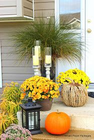 Brown Paper Packages: Fall-ified Front Entry