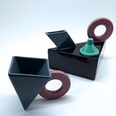 Tea Pot and Cup by Feltman Langer California