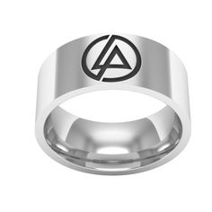 >> Click to Buy << Linkin Park Symbol Rock Music Stainless Steel Band Ring #Affiliate