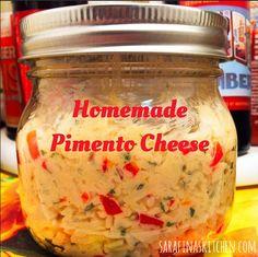 Homemade Pimento Cheese | Sarafina's Kitchen