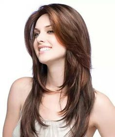 Image result for haircuts for long brown hair