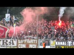 Pyro vor, während und nach dem Freundschaftsspiel des SV Babelsberg 03 gegen den FC St. Pauli.