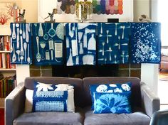 Lovely home textiles from karenfuchshome.com
