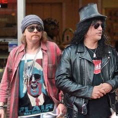 Axl & Slash of Guns N' Roses