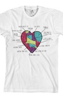 Things That I Love Tee (White) T-Shirt - Tyler Oakley T-Shirts - Official Online Store on District Lines