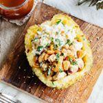 Delicioso pollo con piña y cacahuetes para una comida deliciosa y llena de sabor 😀
