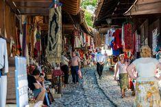 Albanien Urlaub Markt Kruje