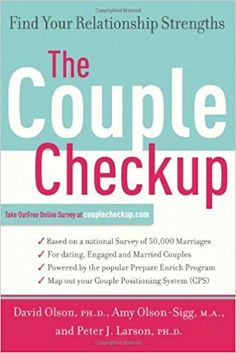 A book and online profile that identifies a couple's strengths to help them build a more vital relationship.