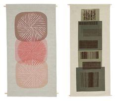 Wall hangers by Malene Zapffe - find them here --> Retrovilla.dk