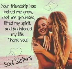 Anam cara soul sister quotes, friendship quotes for girls real friends, friendship quotes thank Soul Sister Quotes, Besties Quotes, Girl Quotes, Bffs, Bestfriends, Friendship Quotes For Girls Real Friends, Best Friends Sister, Dear Best Friend, True Friends