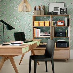 Home Office Hacks: Sneaky Strategies For Hiding A Clunky Printer Home Office Storage, Home Office Space, Home Office Design, Home Office Decor, Home Decor, Office Shelving, Workplace Design, Office Designs, Small Office