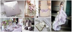 lilac wedding boquet... It has the same ones as at the shower