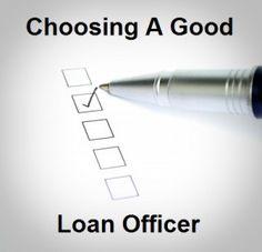 Good loan officer - A check list