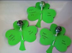 St Patrick's day class treats